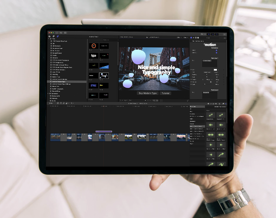 final cut pro for ipad
